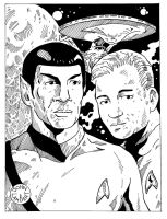 Star Trek by Batman4art