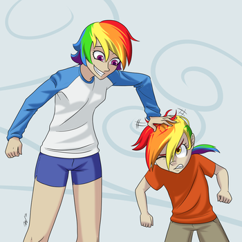 Human Dash and Feather by 7 Nights by Q99
