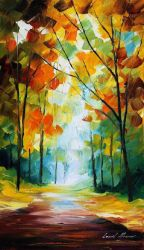 Falls Reason by Leonid Afremov by Leonidafremov
