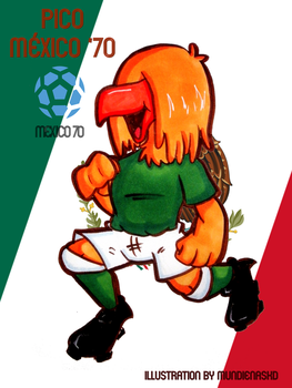 .:World Cup Mascots:. Pico by MundienaSKD