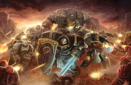 Space Marine Stand by lnsan1ty