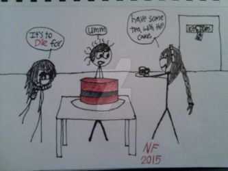 The cake is not what you think by thisthatagain