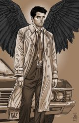 Castiel: Supernatural by quasilucid