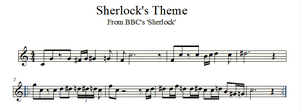 Sherlock's Theme - Violin by valdesu