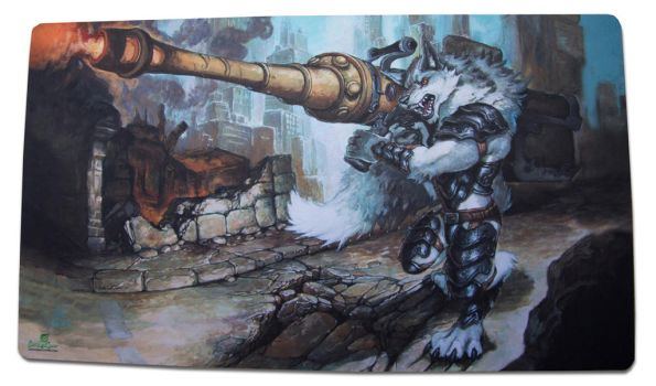Scorched Earth Playmat by The-SixthLeafClover
