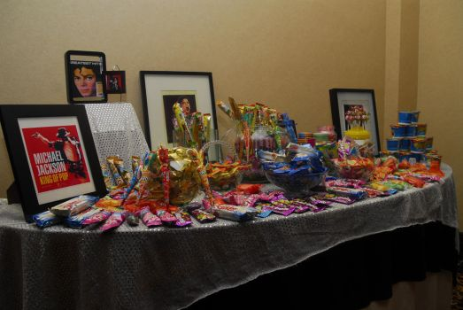 My B'day Party Candy Table by Genelatour-X