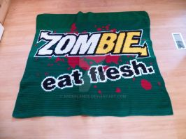 Zombie, eat flesh by anderlance