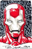 Iron Man by ToddNauck