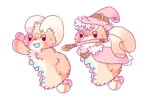 *ART BY DIIRAGON* little witch paca MYO by barafrog