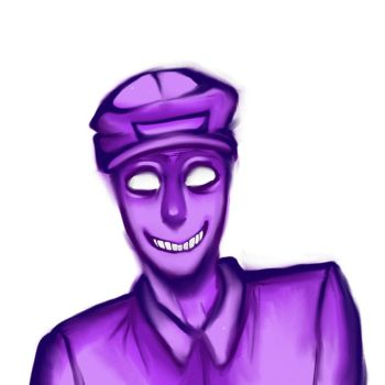 purple guy|GIF by d00dle-devil