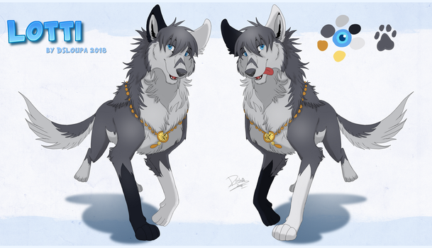 Lotti reference sheet 2018 by Strawberry-Loupa