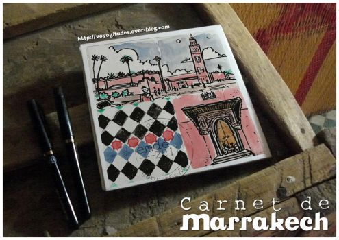 Carnets a Marrakech 03 by gribouille