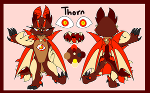 Thorn Reference Sheet by Tokaliz