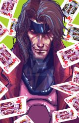 Gambit by witchfox