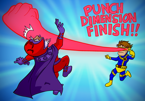 Welcome To Punch Dimension by luckettx