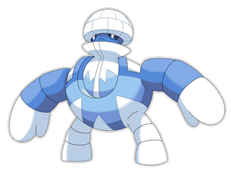 Mechloo, Igloo Fakemon V2 by Smiley-Fakemon