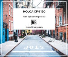 38 Film Lightroom Presets | Holga CFN 120 by RetouchingBlog