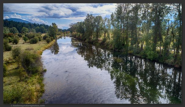 Old Goat River Channel by kootenayphotos