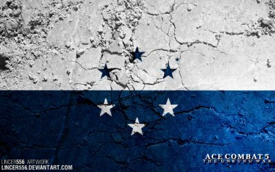 Ace Combat 5 - OSEAN Flag by lincer556