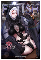 RACHNEE AS FETISH MAGAZINE COVER AUGUST 2018 by Montteiro