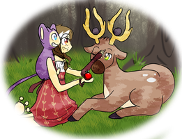 Stantler | Don't worry child... by SozinThis