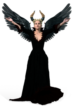 Stock:  Dark Angel PNG by ArtReferenceSource