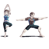 Wii Fit Trainers by TJNihil