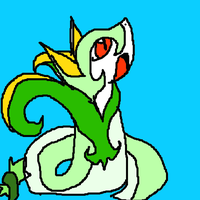 My Serperior, Slerpie by Kyrifian