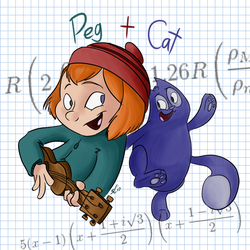 Peg plus Cat equals Adorable by Kydoon