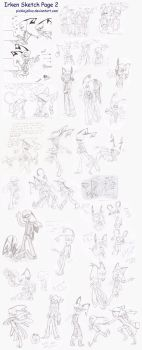 IZOC Sketch Page 2 by HugaDuck