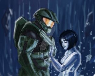 Halo 4 ending by WinterSpec