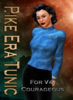 Captain Pike Era Tunic for V4 Courageous by mylochka