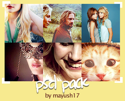 6 PSD pack by mayush17