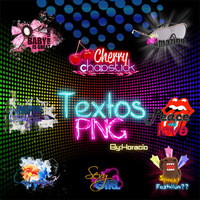 Text PNG Pack 1 by fazhiionztar