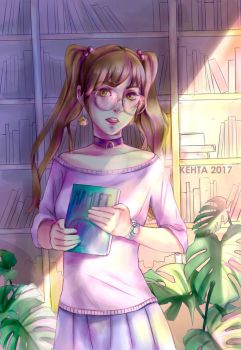 library by Kehta