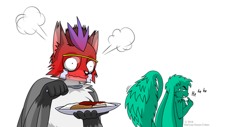 Spicy meal special by MarwanGreenCritter