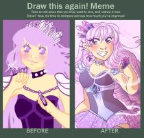 Draw This Again Meme by galaxytxt