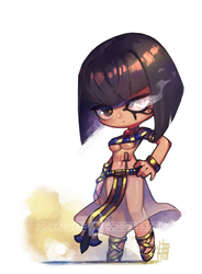 Egyptian girl! by Tostantan