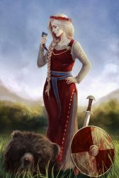 VikingQueen by MarkoTheSketchGuy