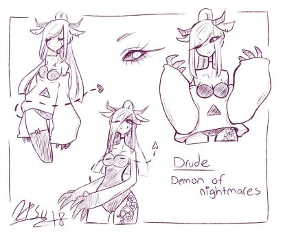 Drude Doodles by Ryxner