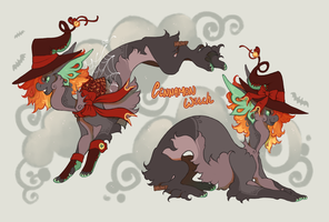 Cinnamon Witch Finkx AUCTION closed by Hauket