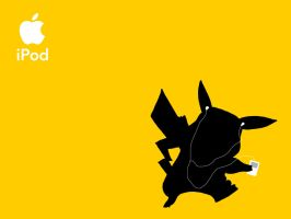 Celebrity iPods - Pikachu by cloudten