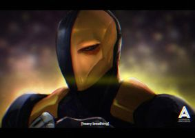 Deathstroke by asadfarook