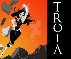 Donna Troy as TROIA by shelWonder