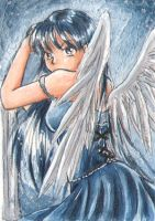 ACEO - Angel by Mana-Kyusai