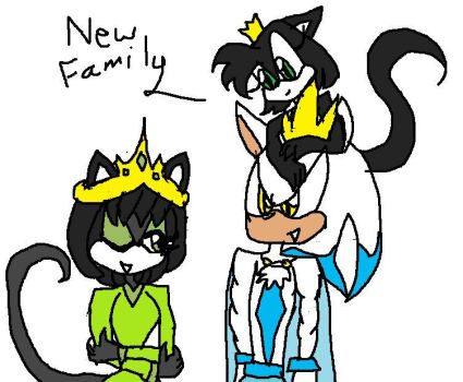 Kat and her new family by destiny6181