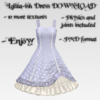 Lolita-ish Dress DOWNLOAD by Reseliee
