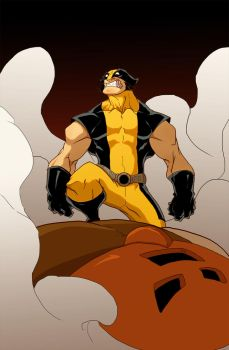 Wolverin vs jaganot color by Anny-D