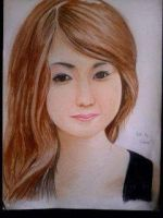2014 Drawing - Ms. Sharmaine :) by nielopena