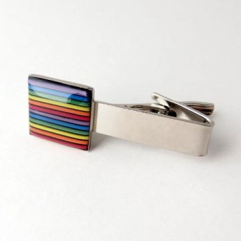 Colorful Domed Computer Cable Tie Clip by Techcycle